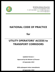 National Code of Practice